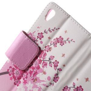 Lovely pouzdro na mobil Sony Xperia Z5 - kvetoucí větvička - 5