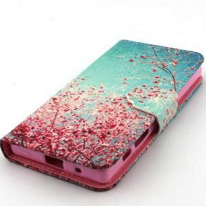 Kelly pouzdro na mobil Sony Xperia Z5 Compact - kvetoucí strom - 5