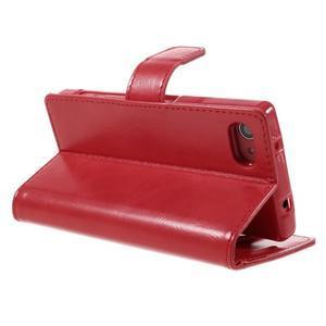 Bluemoon PU kožené pouzdro na Sony Xperia Z5 Compact - červené - 5