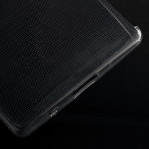 Ultratenký slim gelový obal na Sony Xperia Z5 Compact - šedý - 5