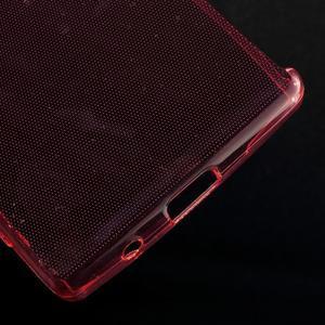Ultratenký slim gelový obal na Sony Xperia Z5 Compact - červený - 5
