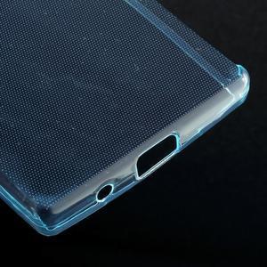 Ultratenký slim gelový obal na Sony Xperia Z5 Compact - světlemodrý - 5