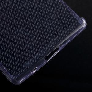 Ultratenký slim gelový obal na Sony Xperia Z5 Compact - fialový - 5