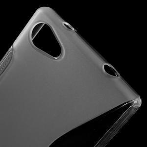 S-line gelový obal na Sony Xperia Z5 Compact - transparentní - 5