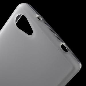 Matný gelový obal na Sony Xperia Z5 Compact - bílý - 5