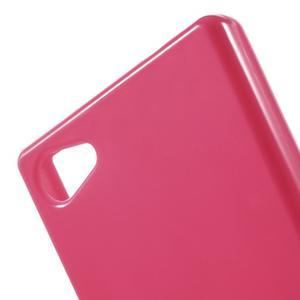Solid lesklý gelový obal na mobi Sony Xperia Z5 Compact - rose - 5