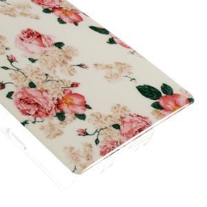 Gelový obal na mobil Sony Xperia Z5 Compact - květiny - 5
