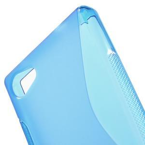 S-line gelový obal na Sony Xperia Z5 Compact - modrý - 5