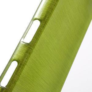 Brush gelový obal na Sony Xperia Z5 Compact - zelený - 5