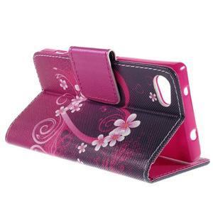 Diary peněženkové pouzdro na Sony Xperia Z5 Compact - srdce - 5