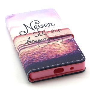 Peněženkové pouzdro na mobil Sony Xperia Z5 Compact - nepřestávej snít - 5