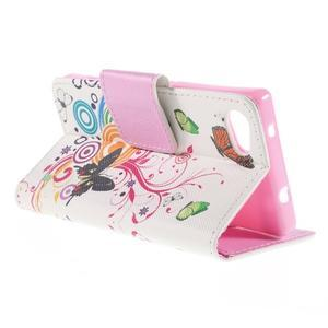 Diary peněženkové pouzdro na Sony Xperia Z5 Compact - motýlci - 5