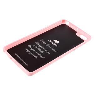 Jells gelový obal na mobil Xiaomi Mi Note - růžový - 5