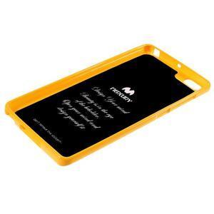 Jells gelový obal na mobil Xiaomi Mi Note - žlutý - 5