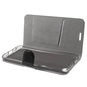 Horse peněženkové pouzdro na mobil Xiaomi Mi5 - černé - 5