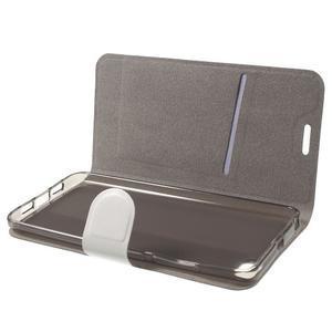 Horse peněženkové pouzdro na mobil Xiaomi Mi5 - bílé - 5