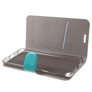 Horse peněženkové pouzdro na mobil Xiaomi Mi5 - modré - 5