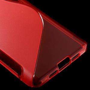S-line gelový obal na mobil Xiaomi Mi5 - červený - 5