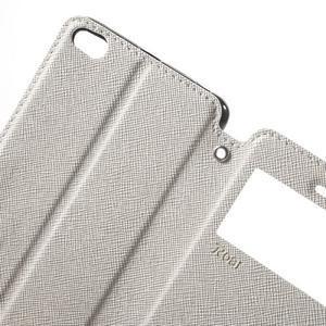 Diary view peněženkové pouzdro na Xiaomi Redmi 3 - bílé - 5
