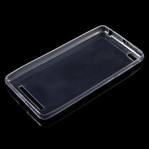 Ultratenký slim gelový obal na mobil Xiaomi Redmi 3 - transparentní - 5