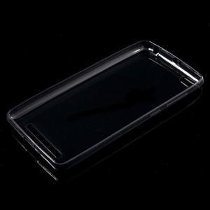 Ultratenký slim gelový obal na mobil Xiaomi Redmi 3 Pro - šedý - 5