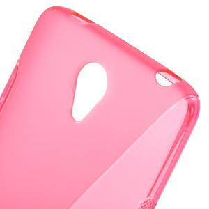 S-line gelový obal na mobil Xiaomi Redmi Note 2 - rose - 5
