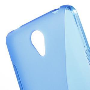 S-line gelový obal na mobil Xiaomi Redmi Note 2 - modrý - 5