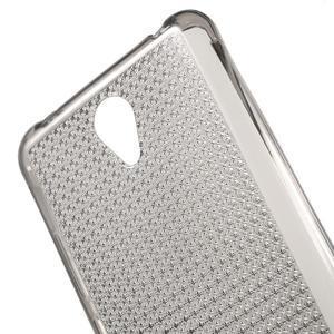 Diamonds gelový obal na Xiaomi Redmi Note 2 - šedý - 5