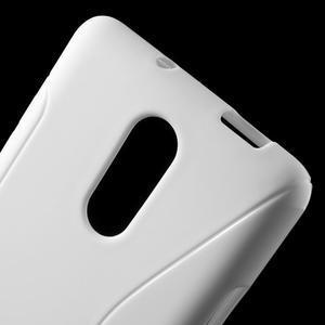 S-line gelový obal na Xiaomi Redmi Note 3 - bílý - 5
