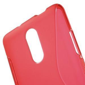 S-line gelový obal na Xiaomi Redmi Note 3 - červený - 5