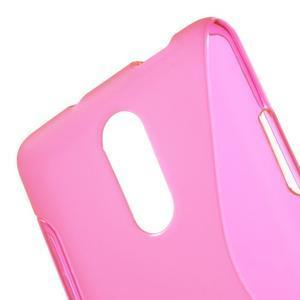 S-line gelový obal na Xiaomi Redmi Note 3 - rose - 5