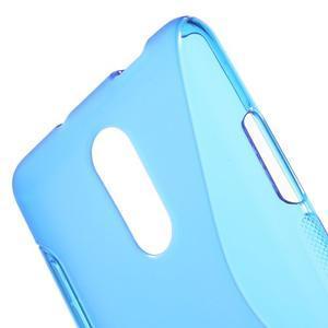 S-line gelový obal na Xiaomi Redmi Note 3 - modrý - 5
