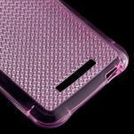 Diamonds gelový obal na Xiaomi Redmi Note 3 - rose - 5/5