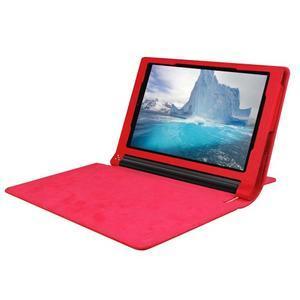 Safe PU kožené pouzdro na tablet Lenovo Yoga Tab 3 8.0 - červené - 5