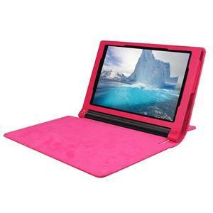 Safe PU kožené pouzdro na tablet Lenovo Yoga Tab 3 8.0 - rose - 5