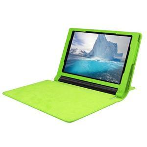 Safe PU kožené pouzdro na tablet Lenovo Yoga Tab 3 8.0 - zelené - 5