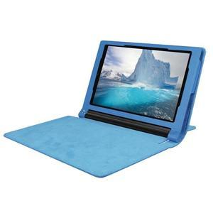 Safe PU kožené pouzdro na tablet Lenovo Yoga Tab 3 8.0 - světlemodré - 5