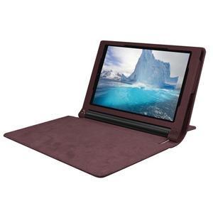 Safe PU kožené pouzdro na tablet Lenovo Yoga Tab 3 8.0 - hnědé - 5