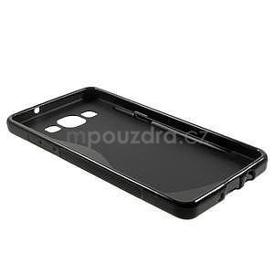 Gelové s-line pouzdro na Samsung Galaxy A3 - černé - 5