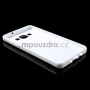 Gelové s-line pouzdro na Samsung Galaxy A3 - bílé - 5