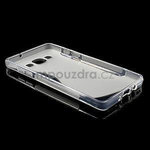 Gelové s-line pouzdro na Samsung Galaxy A3 - transparentní - 5