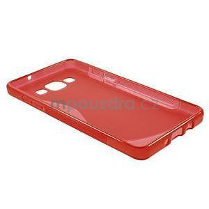 Gelové s-line pouzdro na Samsung Galaxy A3 - červená - 5