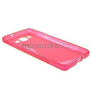 Gelové s-line pouzdro na Samsung Galaxy A3 - růžová - 5