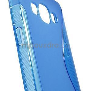 Gelové s-line pouzdro na Samsung Galaxy A3 - modrá - 5