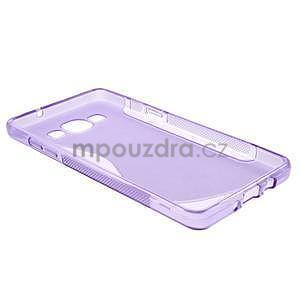 Gelové s-line pouzdro na Samsung Galaxy A3 - fialová - 5