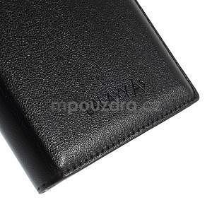 PU kožené pouzdro s okýnkem na Samsung Galaxy A5 - černé - 5