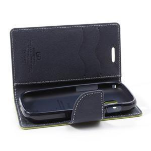 Diary pouzdro na mobil Samsung Galaxy S Duos/Trend Plus - zelené - 5