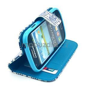 Peněženkové pouzdro na Samsung Galaxy S3 mini - sloni - 5