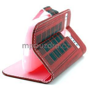 Peněženkové pouzdro na Samsung Galaxy S3 mini - telefonní budka - 5