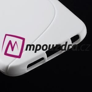 Gelové s-line pouzdro na Samsung Galaxy S6 - bílé - 5